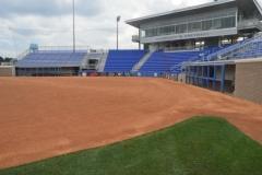 University of Kentucky softball natural grass
