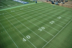 University of Kentucky practice football facility natural grass