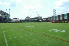 University of Louisville practice facility natural grass